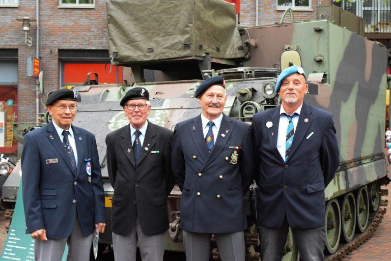 De Veteranendag Hardenberg 2018  gehouden op het marktplein