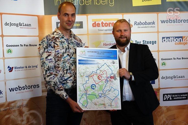 3e etappe Olympia's Tour op   19 oktober in Hardenberg