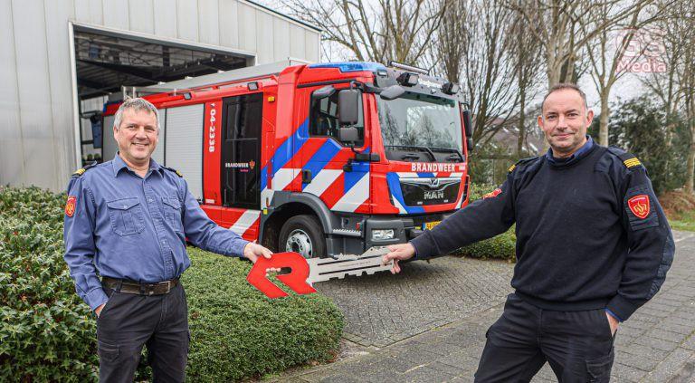 Nieuwe tankautospuiten voor Brandweer IJsselland