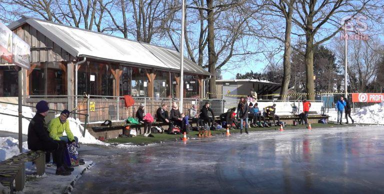 Ook de ijsbaan in Gramsbergen is open
