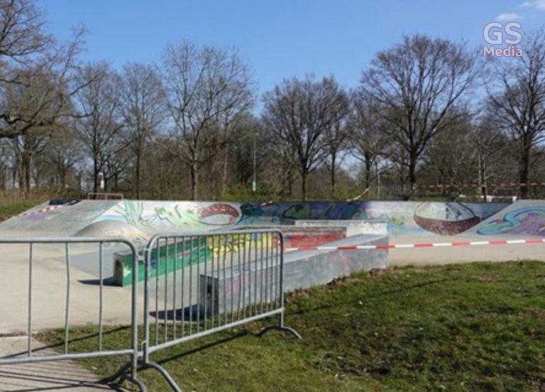 De skatebaan in Hardenberg is weer open