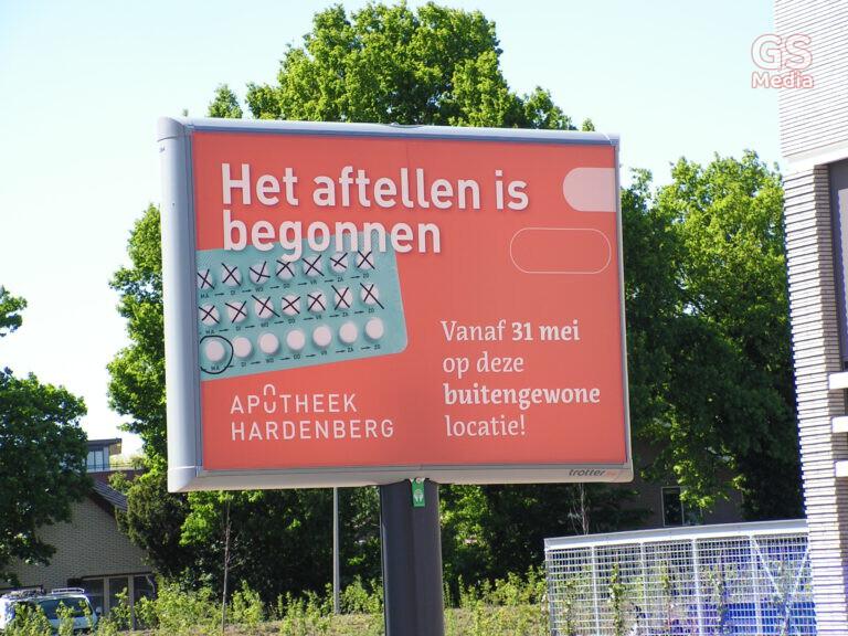 Apotheek Hardenberg verhuisd