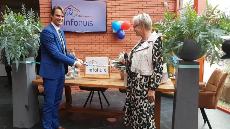 Infohuis Dedemsvaart officieel geopend